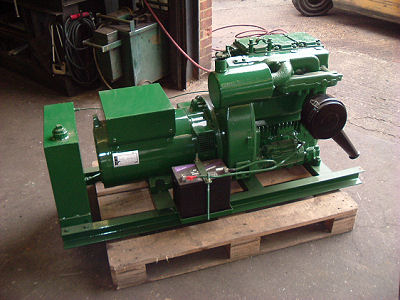 Lister Petter Reconditioned 15KVA Generator